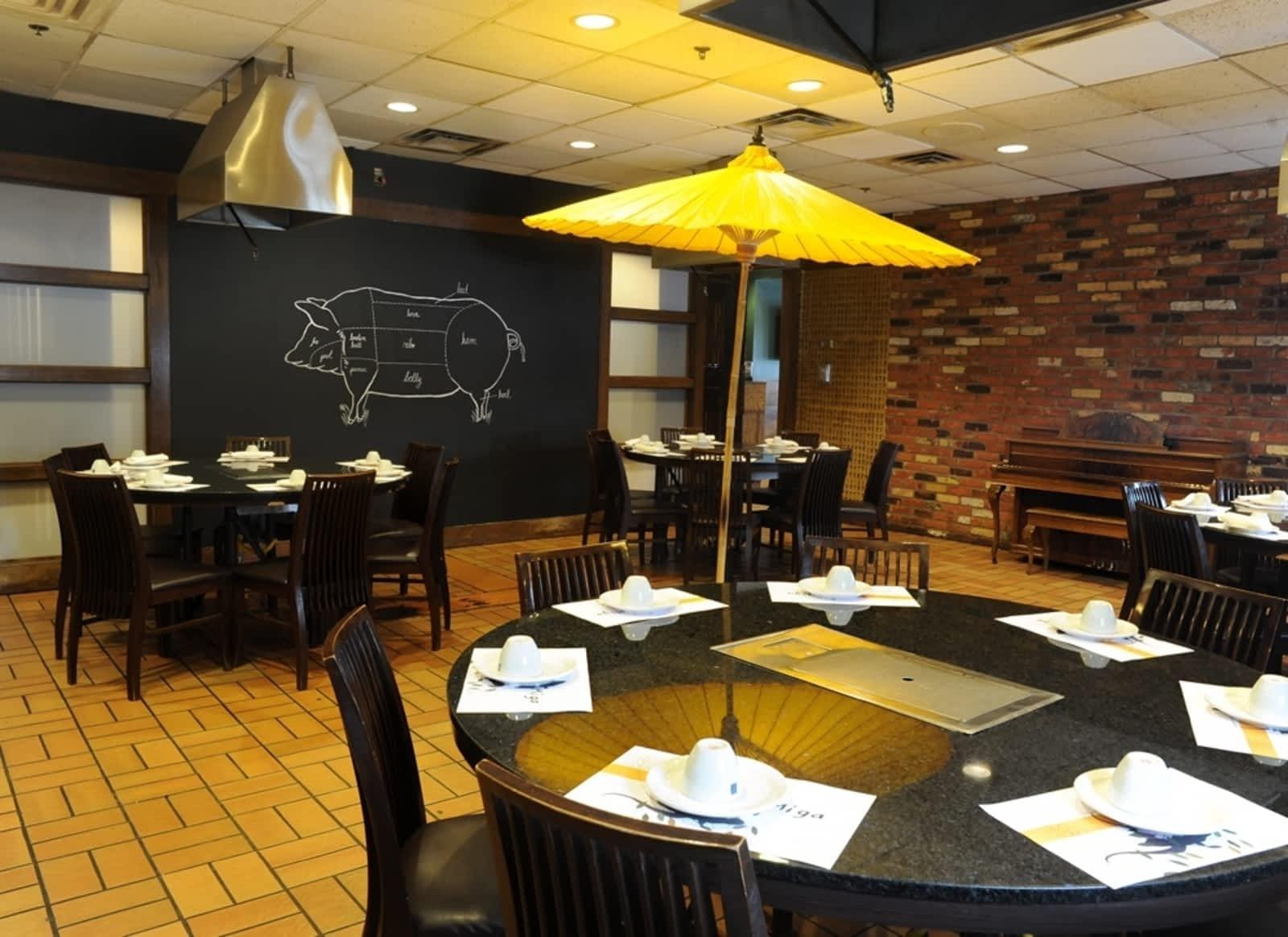 Miga Korean Bbq Restaurant Menu Hours Prices 2382 Dundas St W Mississauga On