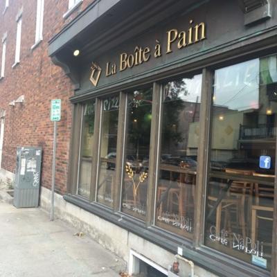 Boîte A Pain Café Napoli - Pizza et pizzérias - 418-977-7571