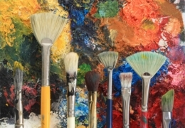 Colour outside the lines at adult art classes in Calgary