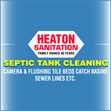 Heaton Sanitation - Hurricane Hydrovac - Septic Tank Cleaning