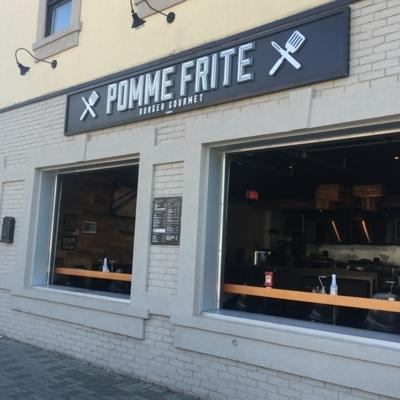 Pomme Frite Burger Gourmet - American Restaurants