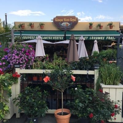 Kiosque Mont-Royal - Fleuristes et magasins de fleurs - 514-281-7537