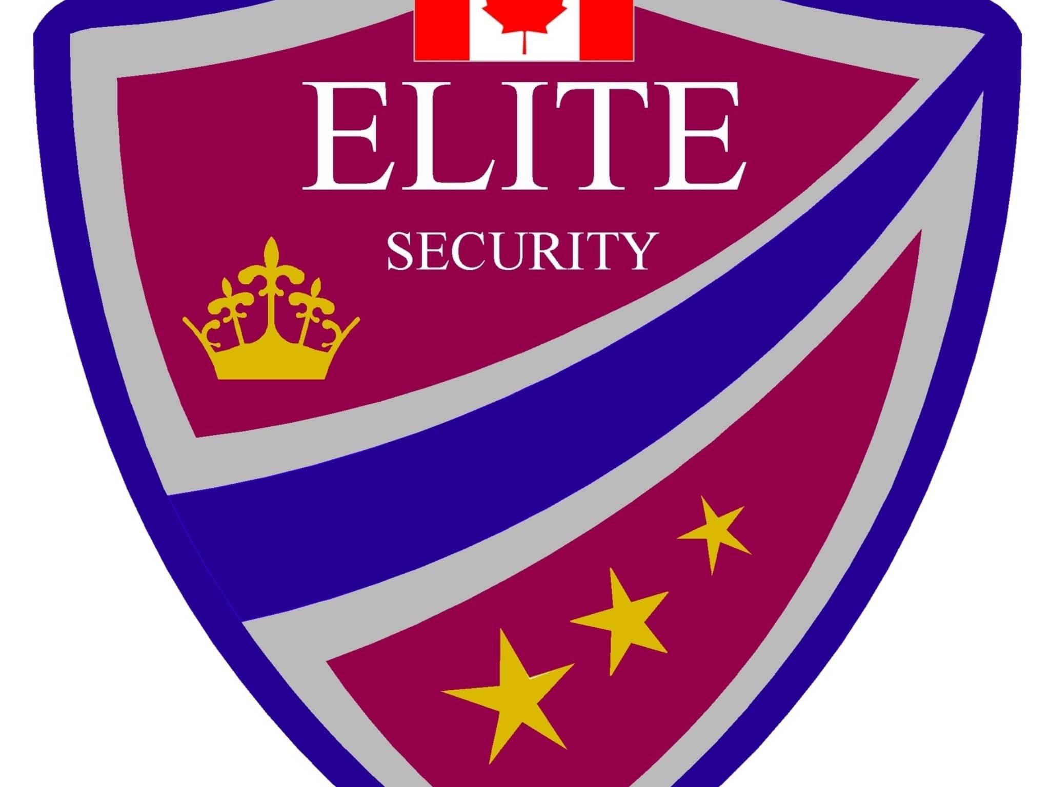 photo Elite Canada Security