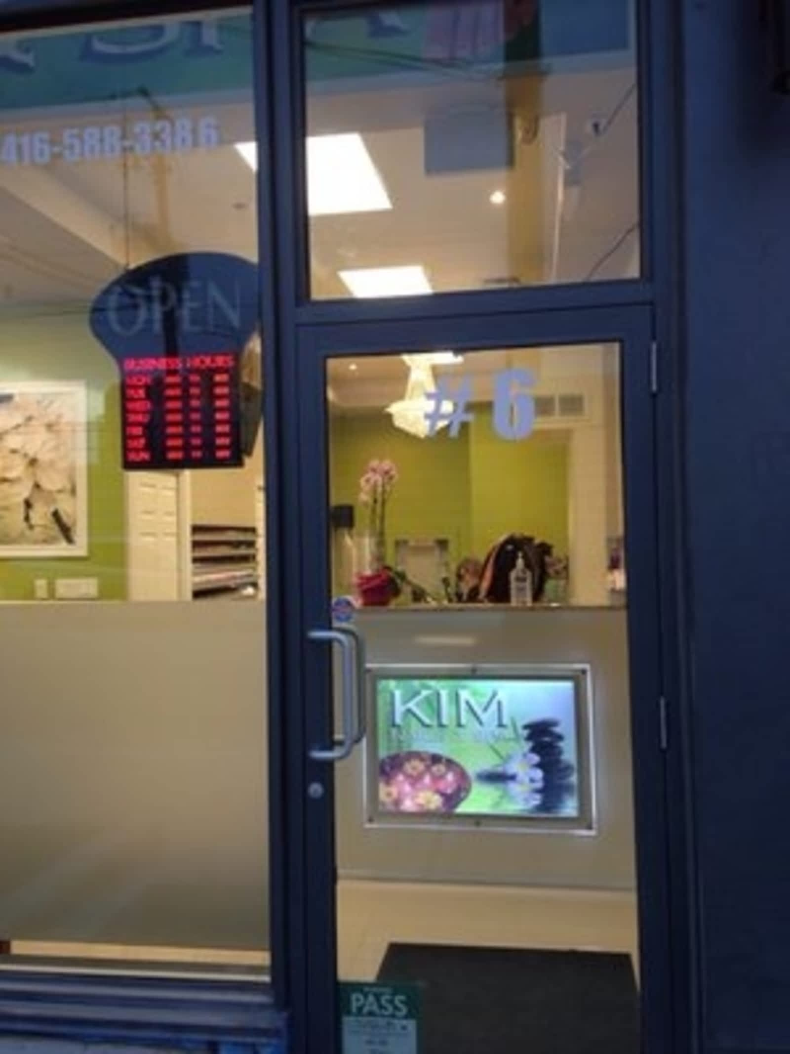 Kim Nails & Spa - Opening Hours - 6-1205 Queen St W, Toronto, ON