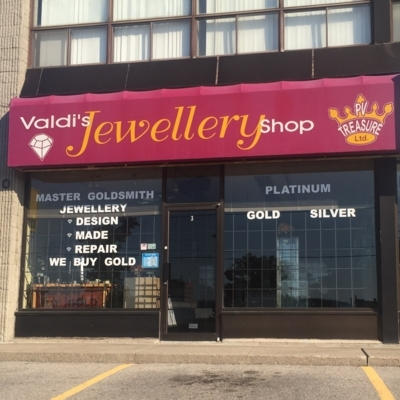 View Valdis Jewellery Shop's Pickering profile