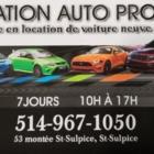 Location Auto Pro - Car Rental - 514-967-1050