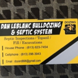 Voir le profil de Dan Leblanc Bulldozing & Septic Systems - White Lake
