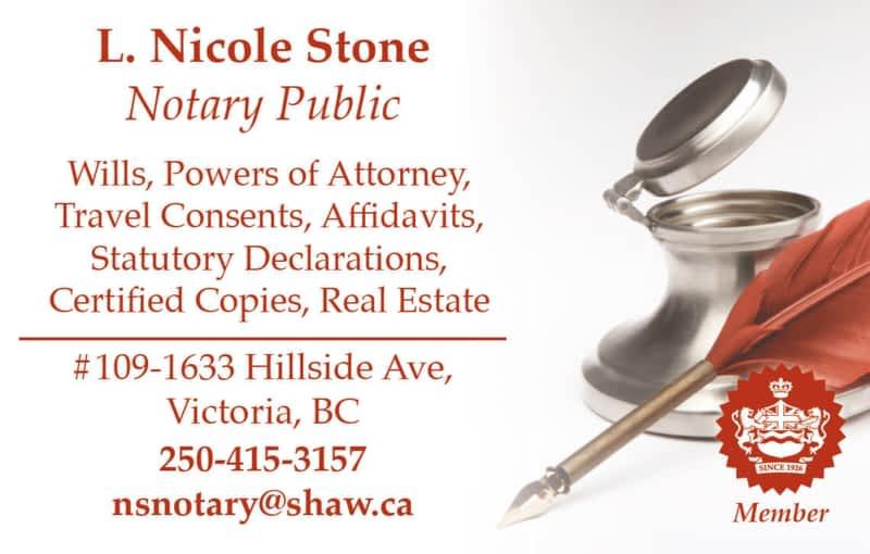 photo Nicole Stone Notary Public