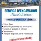 Service d'Excavation Michel Chrétien - Entrepreneurs en excavation