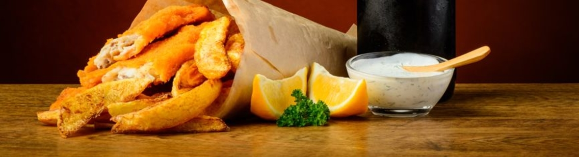 Deliciously deep-fried fish & chips in Vancouver