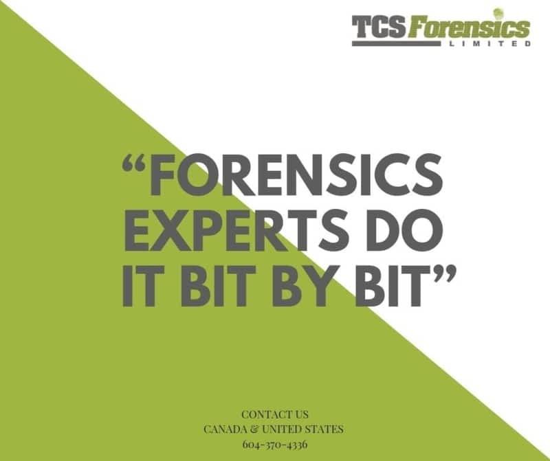 photo TCS Forensics Limited