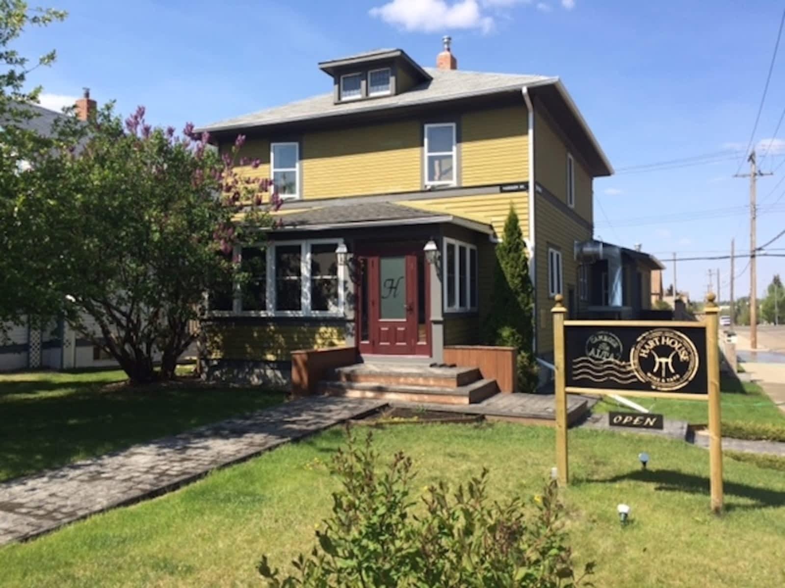 Hart house camrose