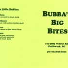 Bubba's Big Bites - Restaurants - 604-858-0020