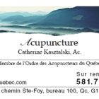 Acupuncture Catherine Kasztalski AC - Acupuncteurs