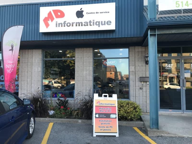 photo MD Informatique - Centre de service Apple