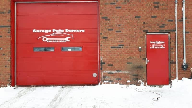 photo Garage Pete Demers