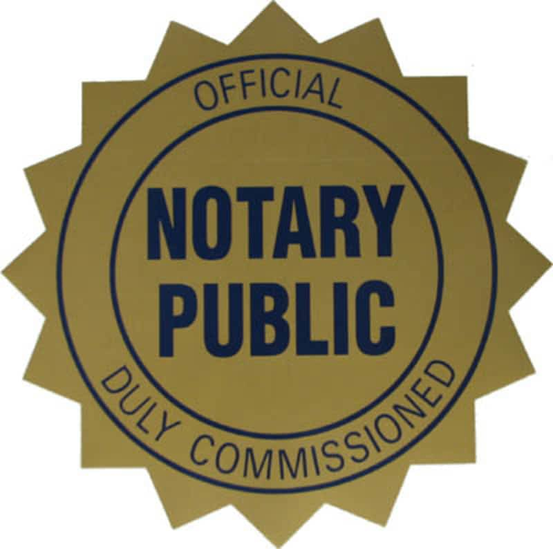 photo Notary Public & Commissioner of Oaths