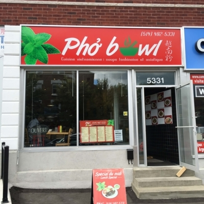 Pho Bowl - Restaurants - 514-482-5331