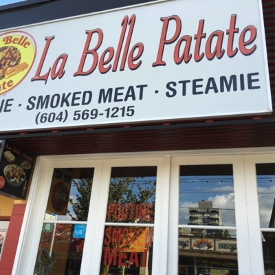 La Belle Patate - Poutine Restaurants - 604-569-1215