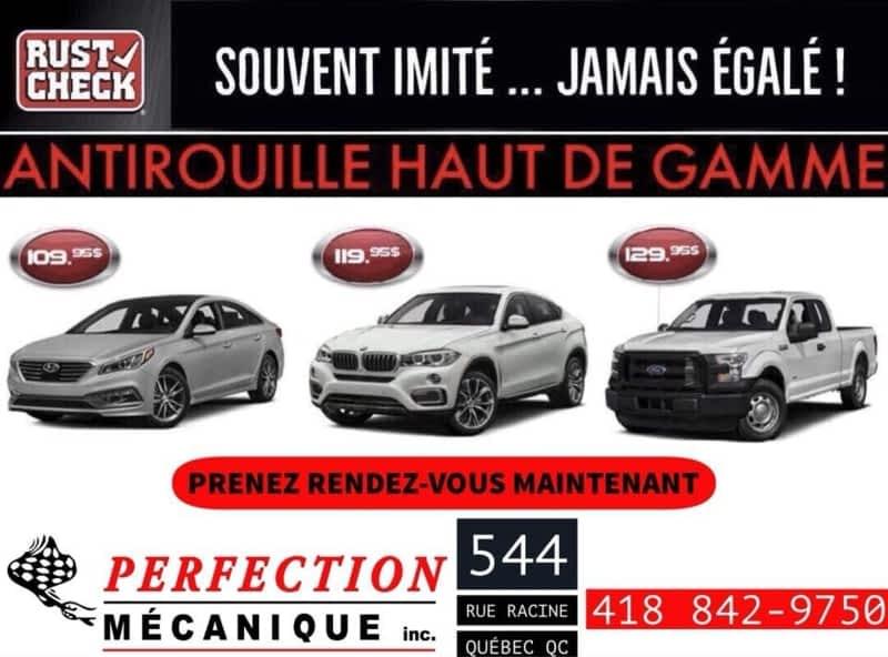 Perfection m canique inc garage sanfa on doris qu bec for Garage mecanique 91