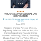 Gracia Law - Avocats criminel - 403-975-4529