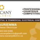 View Tuscany Electric Inc's Cochrane profile