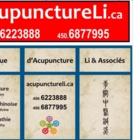 Clinique d'Acupuncture LI & Associés - Naturopathic Doctors - 450-687-7995