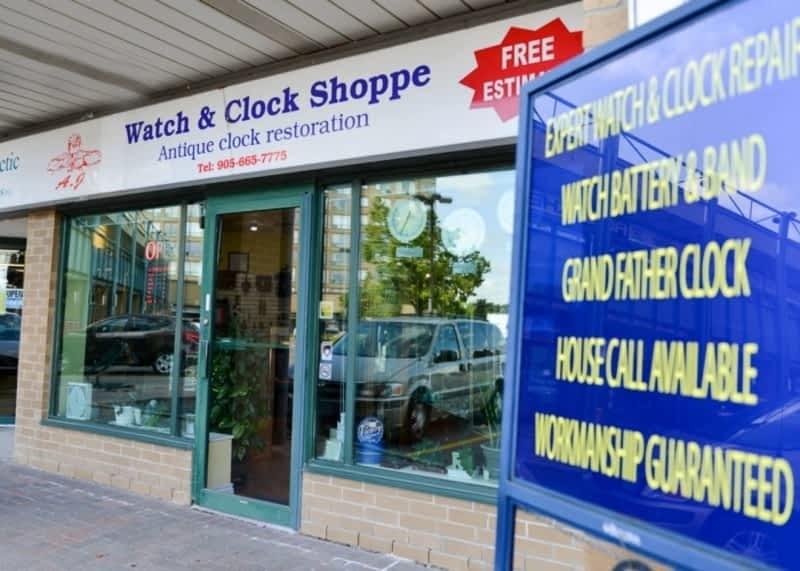 photo A.J. Watch & Clock Shoppe