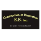Construction et Rénovation E.B Inc - Entrepreneurs en construction