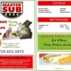 Master Submarine - Greek Restaurants - 705-653-5975