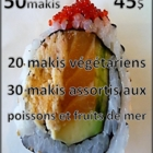 Nicoli Sushi - Sushi et restaurants japonais - 418-622-0004