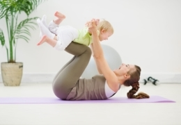 Edmonton fitness studios with classes for moms and babies