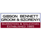 Gibson Bennett Groom & Szorenyi Barristers & Solicitors - Lawyers