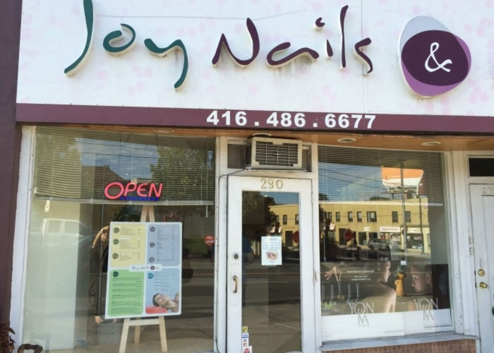 Joy Nails & Spa - Opening Hours - 290 Eglinton Ave W, Toronto, ON