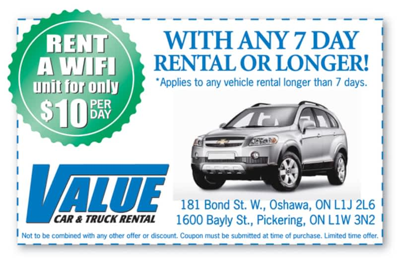 Value Car Rental Winnipeg