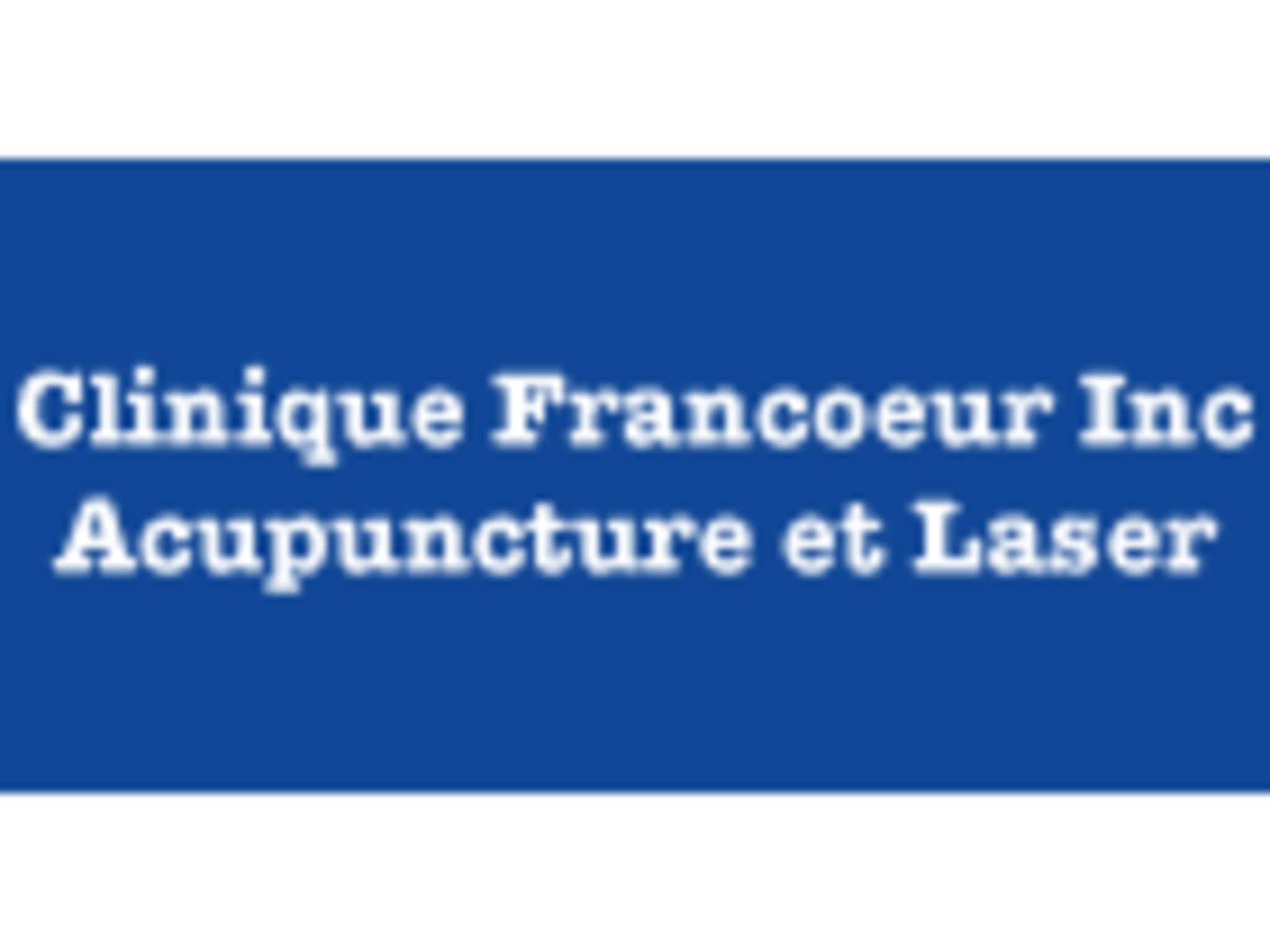 photo Clinique Francoeur Acupuncture et Laser