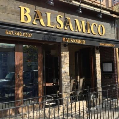 View Balsamico's Toronto profile