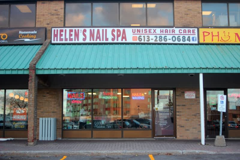 Helen S Nail Spa And Unisex Hair Care Ottawa On 2430