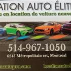 Location Auto Élite - Location d'auto à court et long terme - 514-967-1050