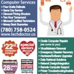 View Tech Doctor Computer Services's Edmonton profile
