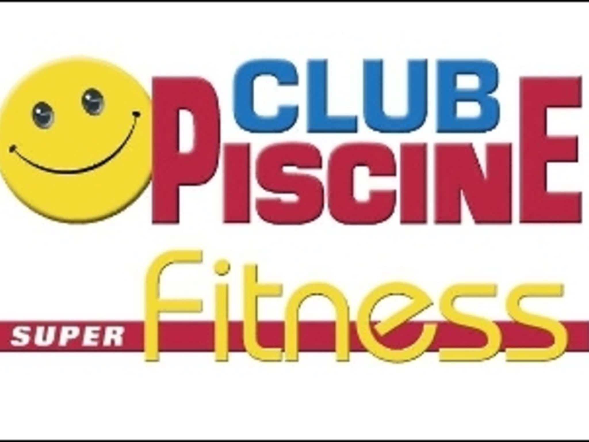 photo Club Piscine Super Fitness