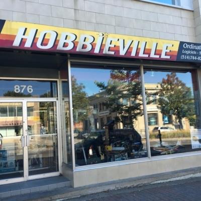 Hobbieville - Magasins de fournitures pour hobbies et modèles réduits - 514-744-8280