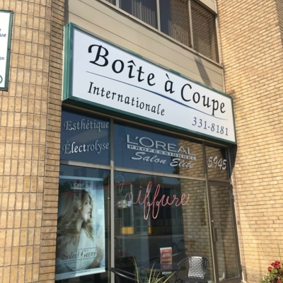 Boîte A coupe Internationale - Hairdressers & Beauty Salons - 514-331-8181