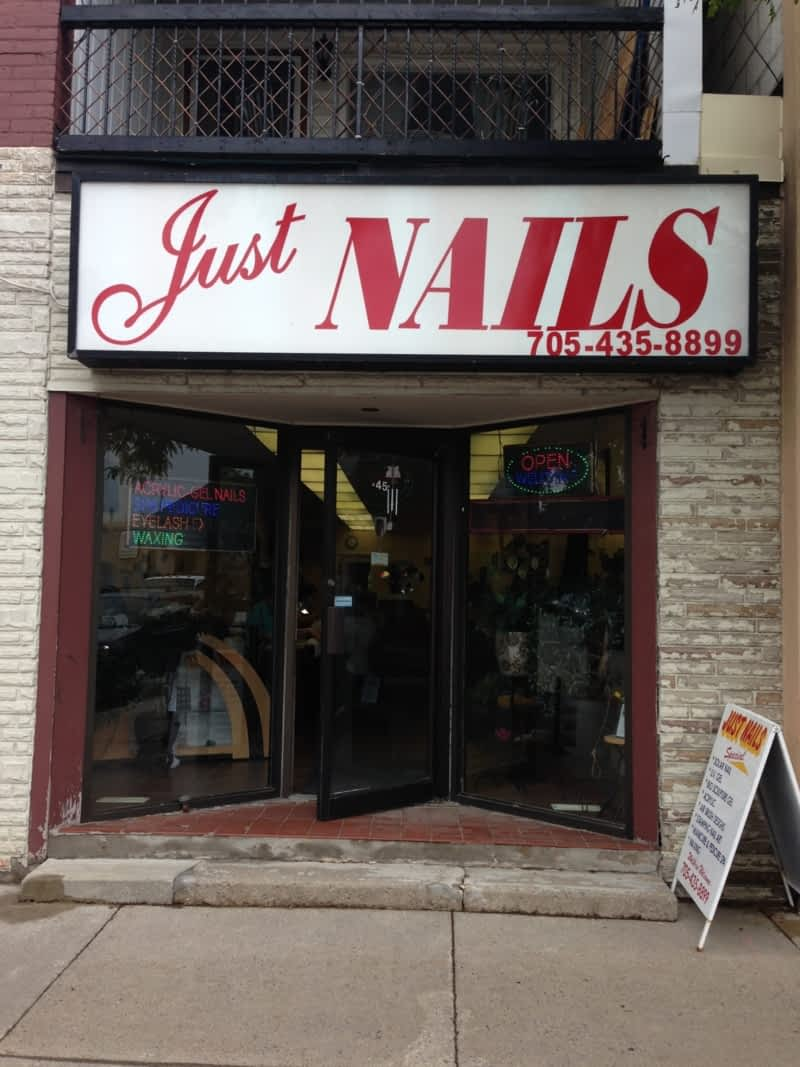 just nails alliston on main victoria st e canpages
