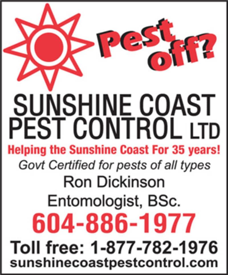 photo Sunshine Coast Pest Control & Health Services Ltd