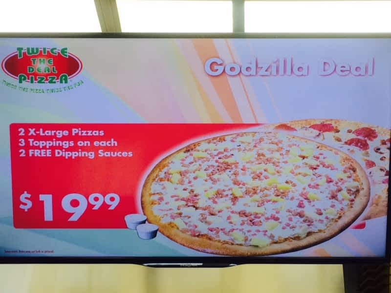 photo Twice The Deal Pizza