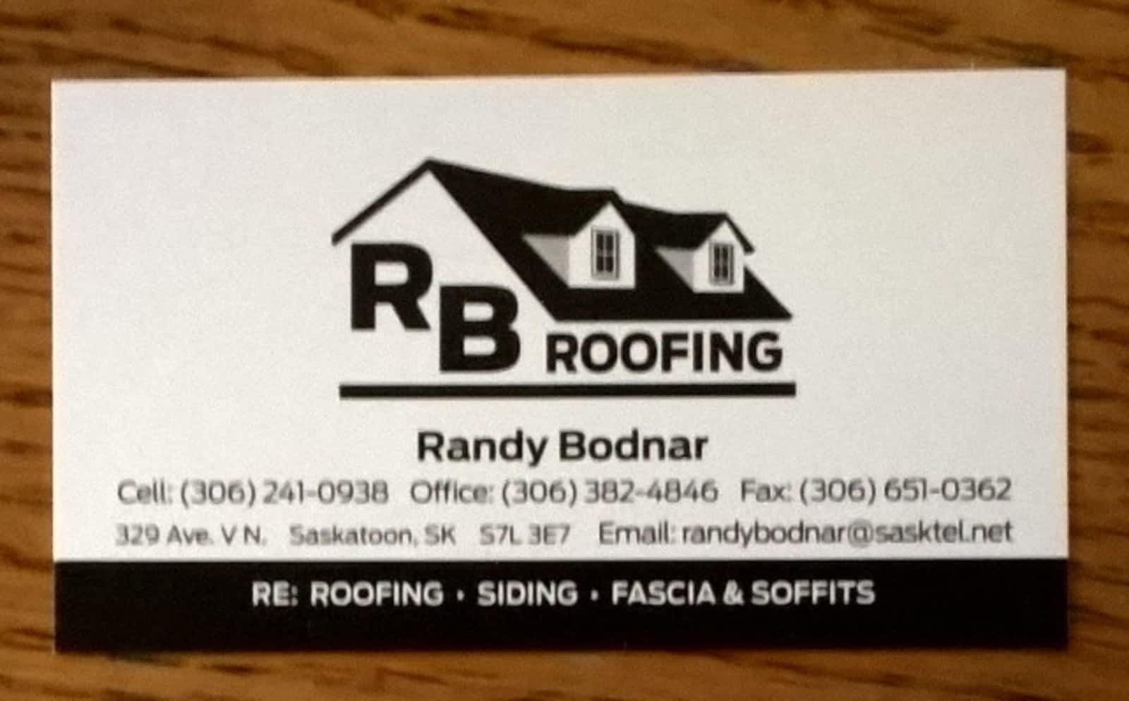 RB Roofing - Opening Hours - 329 Ave V N, Saskatoon, SK