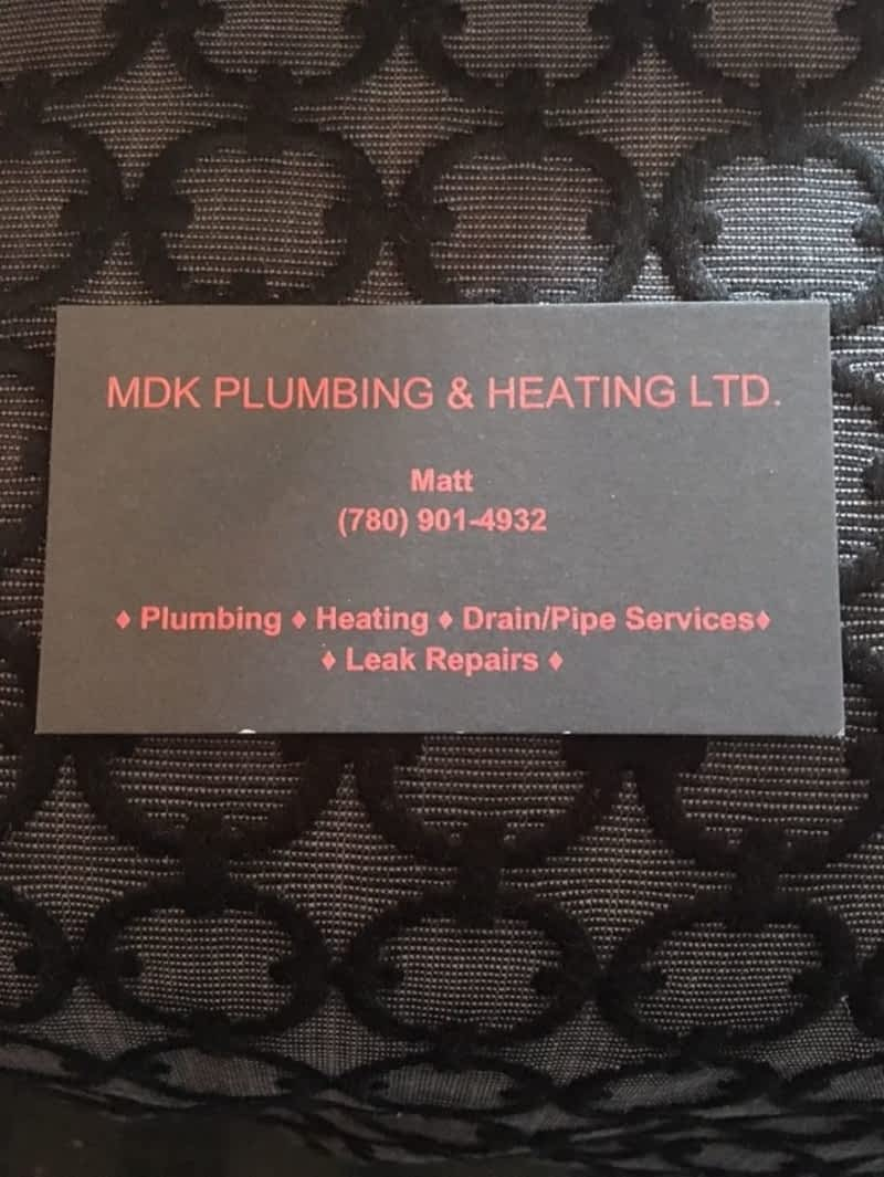 photo MDK Plumbing & Heating Ltd