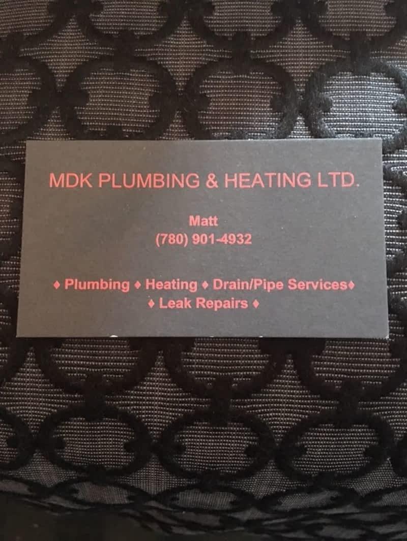photo MDK Plumbing & Heating Ltd