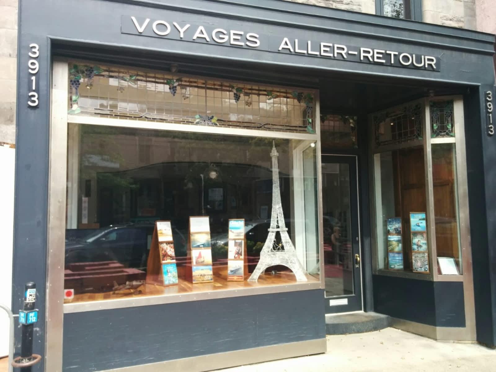 voyages aller retour opening hours 3913 rue saint denis montr al qc. Black Bedroom Furniture Sets. Home Design Ideas